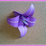 折り紙 菖蒲(あやめ・しょうぶ)の立体的な折り方