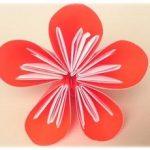 折り紙で立体的な梅の花の簡単な折り方・作り方!