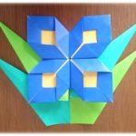折り紙で「りんどう」の葉っぱの簡単な折り方・作り方!